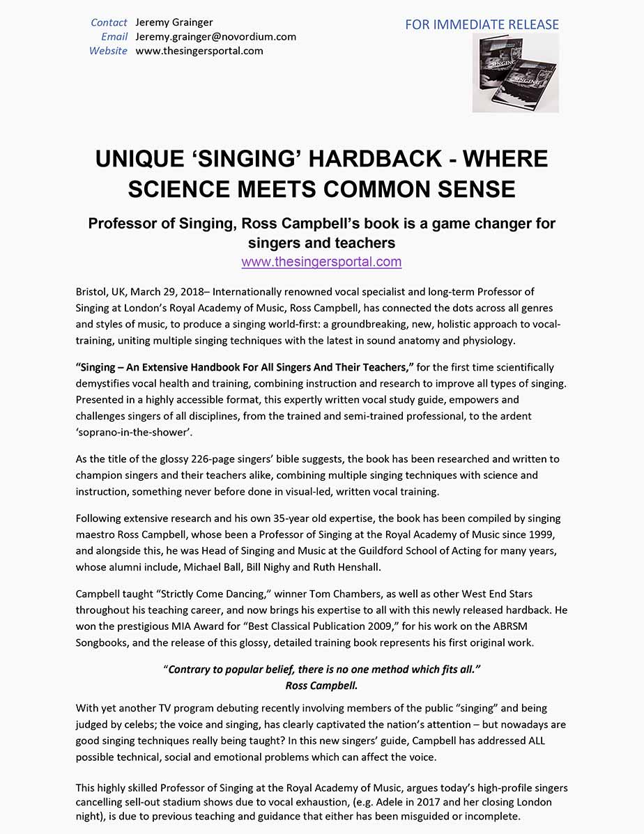 Singers - press release 2018 updated Ross's copy. Date removed.-1
