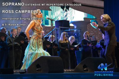 Soprano and orchestra along with details of Ross Campbells Soprano Musical Theatre Repertoire